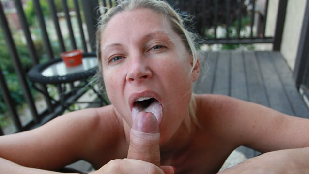 Forced to lick balls