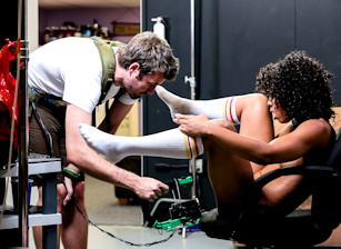 Misty Stone Has the Perfect Squirt