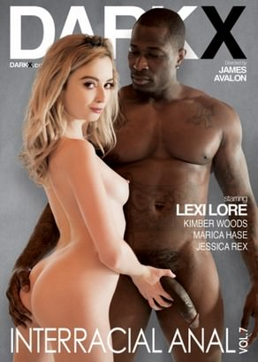 Interracial Anal Vol. 7 Dvd Cover