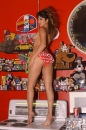 Red With White Polka Dot Bikini Toy Room picture 6