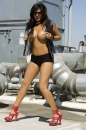 Rooftop Photoshoot With Sunny Leone picture 11