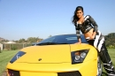 Yellow Lamborghini picture 5
