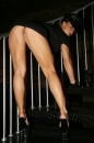 Sunny And Her Friend Have Fun On The Staircase picture 2