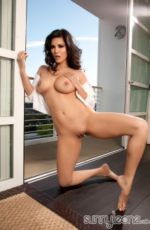 Dildo On The Balcony Picture